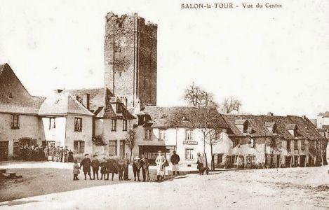 salon la tour cartes postales anciennes